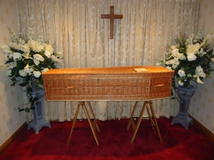 Image 1 - Wicker Coffin